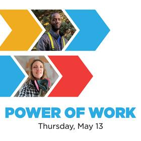 Power of Work Virtual Fundraiser