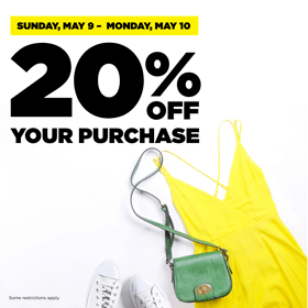 20% Off Clothing Sale