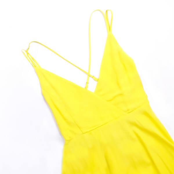 photo of yellow dress